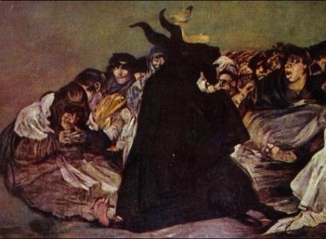 Akelarre. Francisco de Goya. Museo nacional del Prado.
