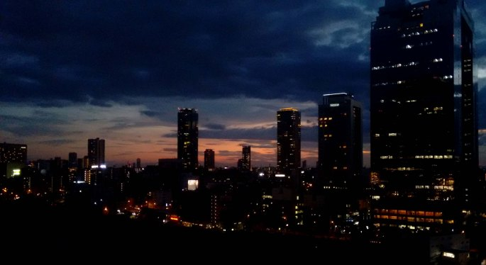 Osaka de noche